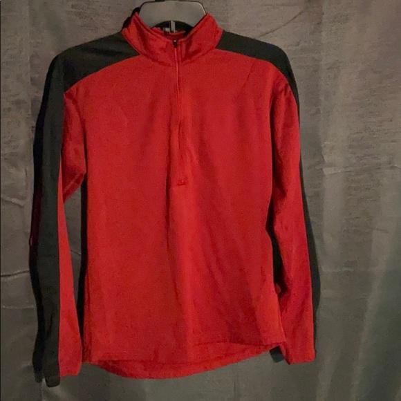 Nike zip up sweat shirt